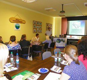 Wizyta studyjna Lokalnych Grup Działania w Woli Radziszowskiej