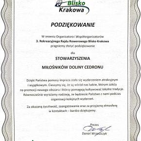 3. Rekreacyjny Rajd Rowerowy Blisko Krakowa