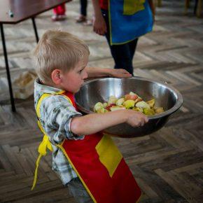 Wielkie gotowanie najmłodszych